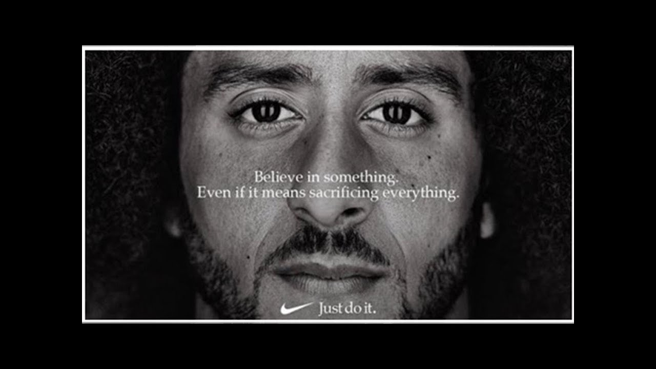 nike just do it campaign Nike stock prices closed at an all-time high on thursday, 10 days after the company announced that divisive nfl player colin kaepernick was the new face of its just do it campaign.