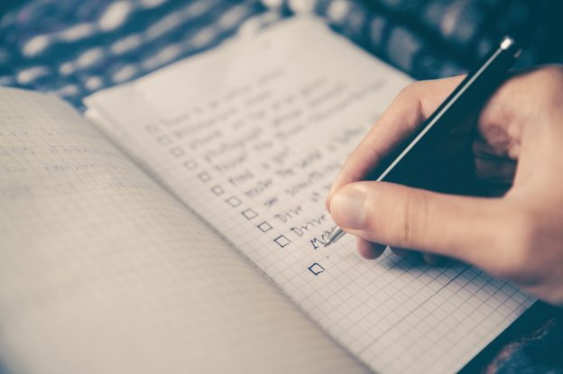 One of the things you should know before moving is to make a moving checklist