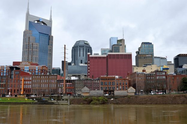 nashville tenness skyline