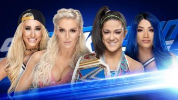 Charlotte Flair and Carmella vs. Sasha Banks and Bayley