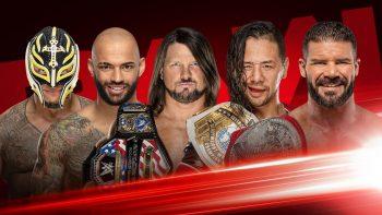Rey Mysterio vs. Ricochet vs. AJ Styles vs. Shinsuke Nakamura vs. Robert Roode