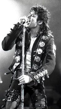 Michael Jackson tour photo 1988