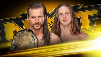 Adam Cole vs. Matt Riddle for NXT Championship