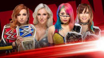 Becky Lynch and Charlotte Flair vs. The Kabuki Warriors Champions Showcase Match