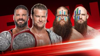 RAW Tag Team Championship Match Roode and Ziggler vs. Viking Raiders