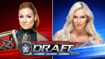 WWE Draft Becky Lynch vs. Charlotte Flair