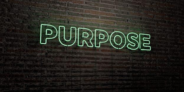 purpose sign